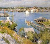 Gloucester Harbour 1895 By Willard Leroy Metcalfe