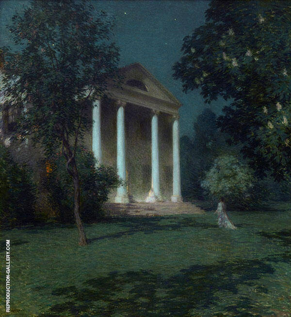 May Night 1906 By Willard Leroy Metcalfe