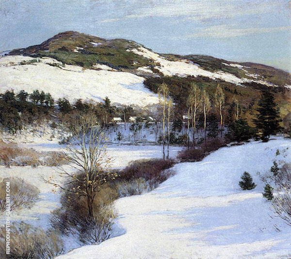 Cornish Hills 1911 By Willard Leroy Metcalfe