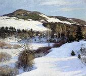 Cornish Hills 1911 By Willard Leroy Metcalfe