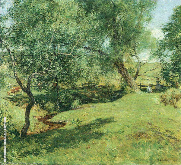 June Pastoral 1910 By Willard Leroy Metcalfe