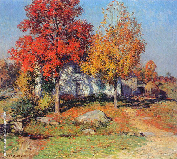 October 1908 By Willard Leroy Metcalfe