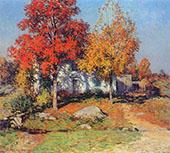 October 1908 By Willard Leroy Metcalfe