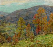 Autumn Glory By Willard Leroy Metcalfe