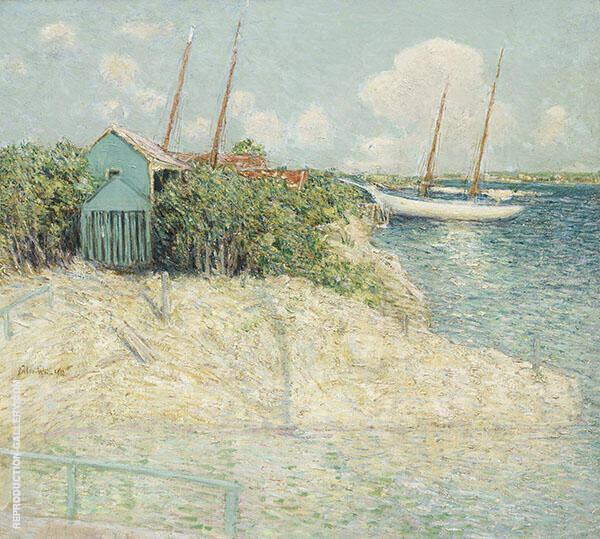 Nassau Bahamas 1913 By J. Alden Weir