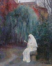 Julia in the Cloister By Ramon Casas