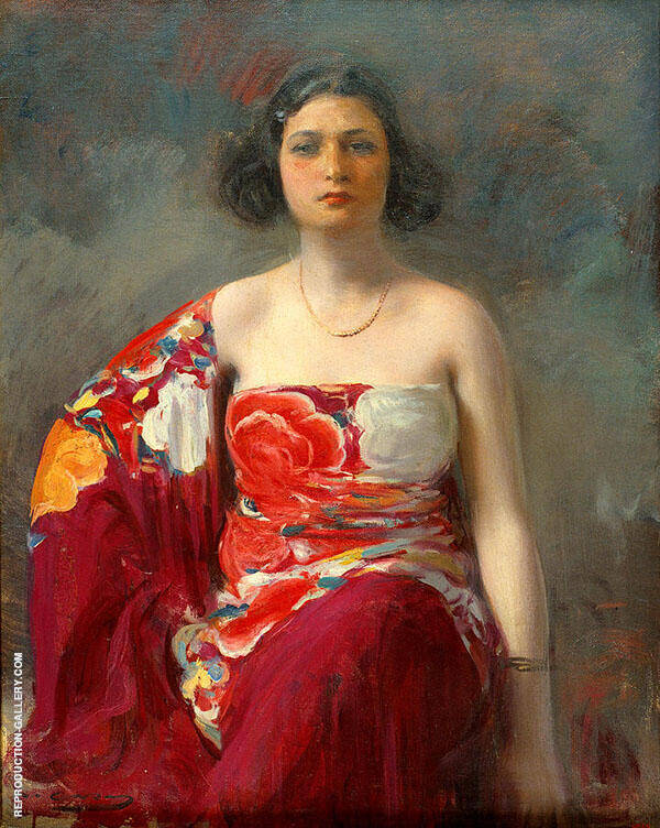 La Trini 1921 By Ramon Casas