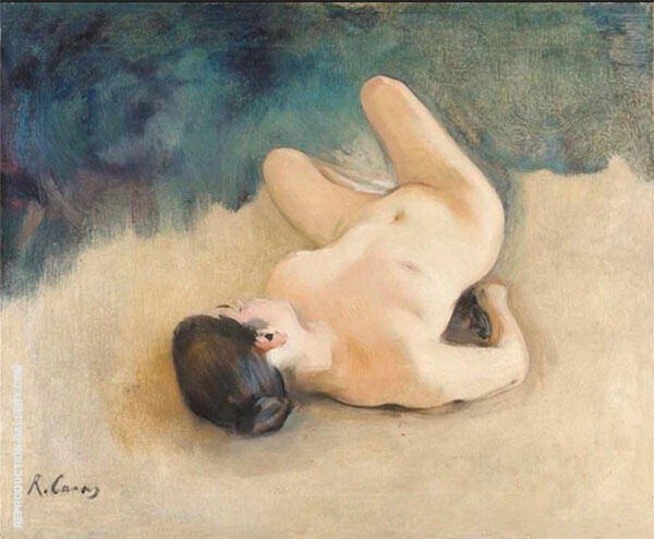 Desnudo Painting By Ramon Casas - Reproduction Gallery