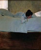 La Mandra, Laziness c1899 By Ramon Casas