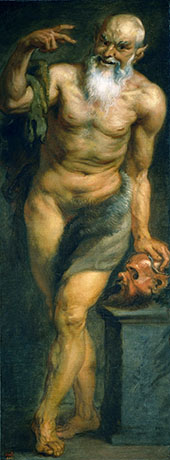 The Satyr By Peter Paul Rubens