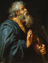 Saint Matthias By Peter Paul Rubens