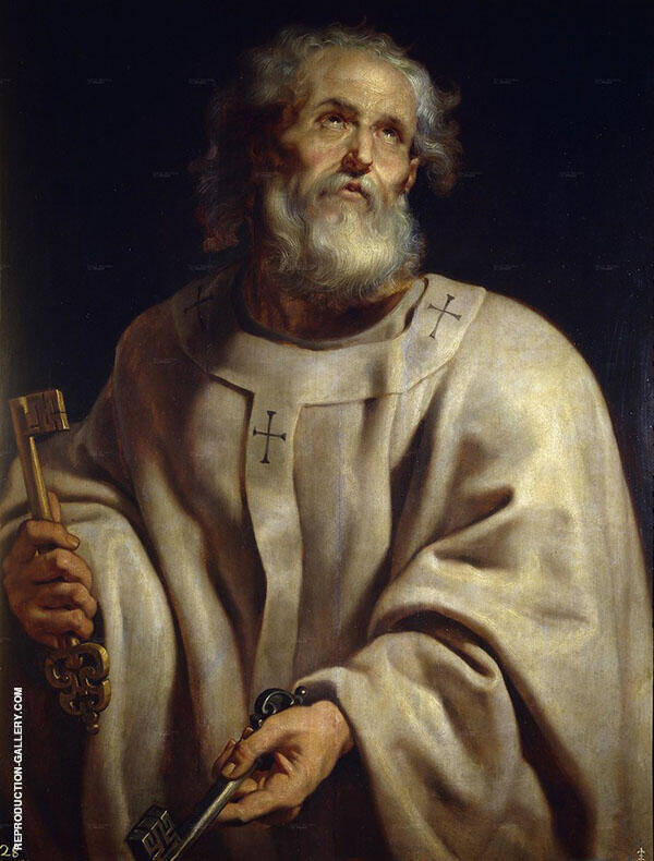 Saint Peter c1610 By Peter Paul Rubens