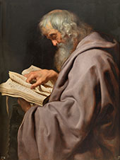Saint Simon By Peter Paul Rubens