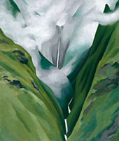 Waterfall No III 'lao Valley By Georgia O'Keeffe