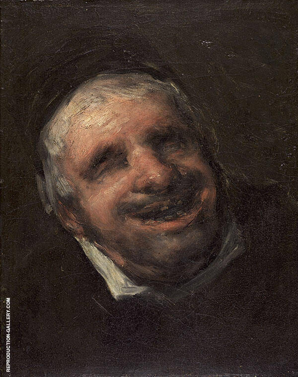 El Tio Paquete - The Blind Man By Francisco Goya