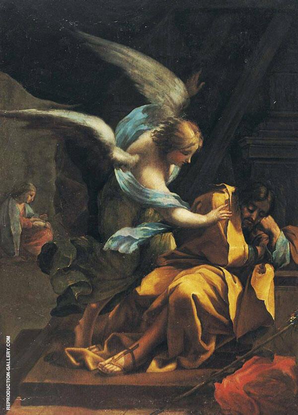 The Dream of St. Joseph 1772 By Francisco Goya