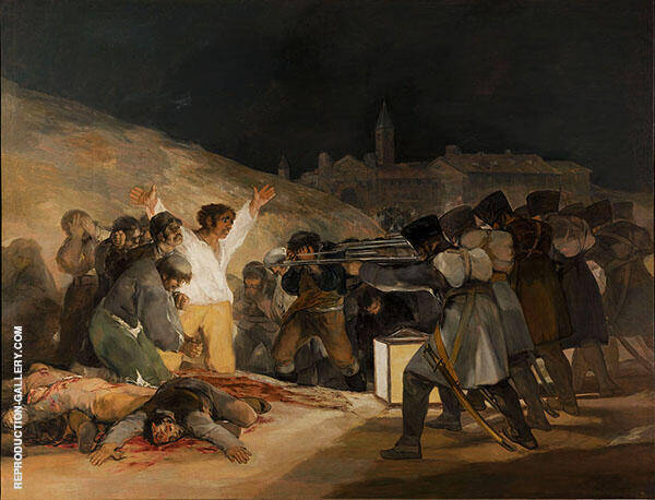 The Third May 1808 Painting By Francisco Goya - Reproduction Gallery