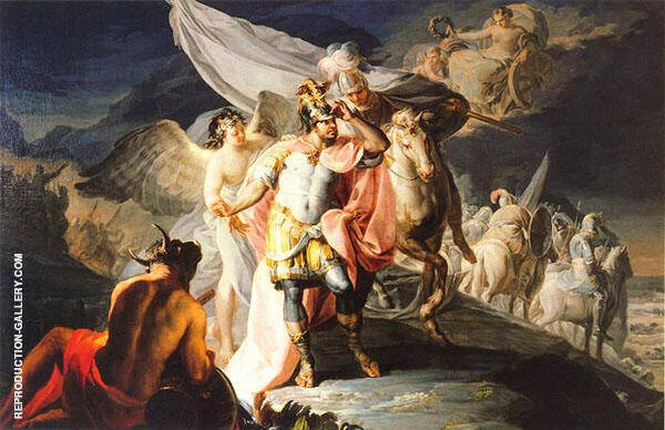 Victorious Hannibal 1771 By Francisco Goya