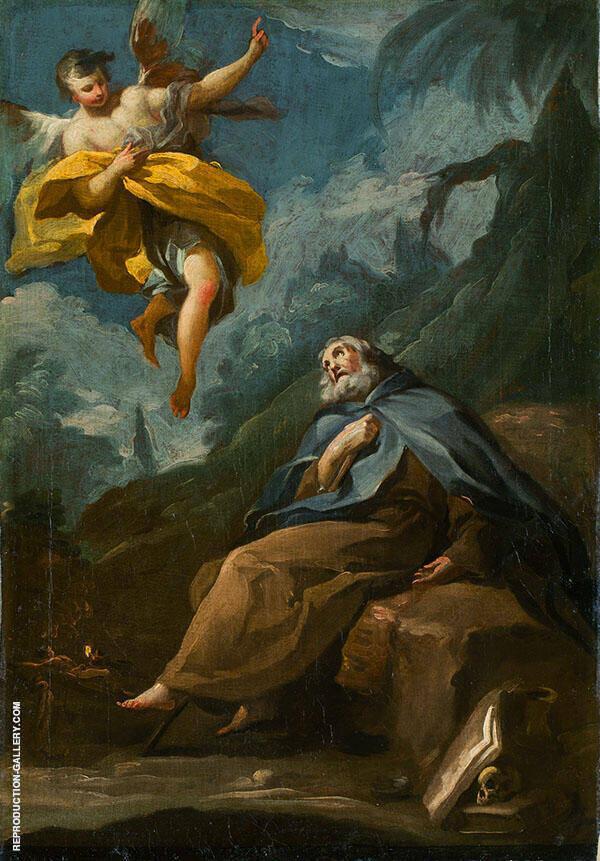 The Ecstacy of St. Anthony 1780 By Francisco Goya