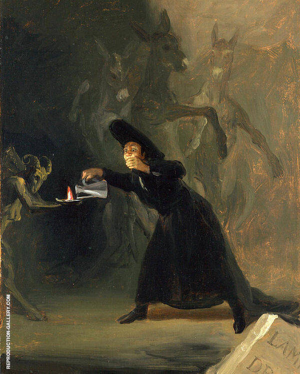 The Bewitched Man c1798 By Francisco Goya