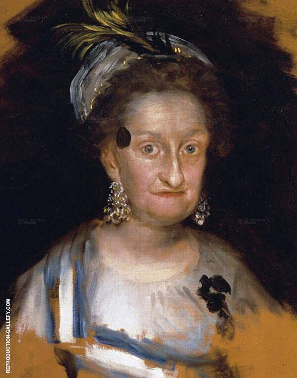Dona Maria Josefa, Infant of Spain By Francisco Goya