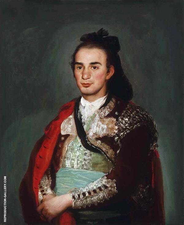 The Toreador Jose Romero By Francisco Goya