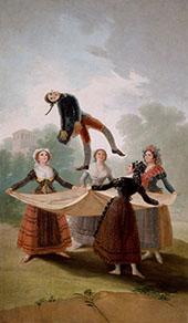 The Straw Manikin c1791 By Francisco Goya