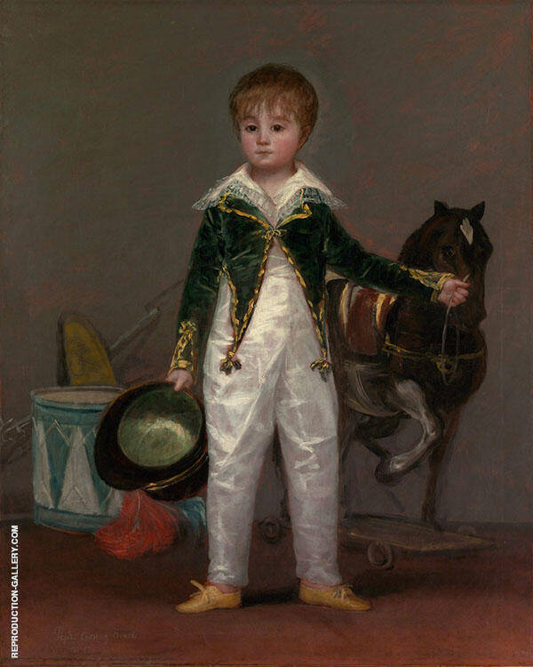 Jose Costa y Bonells (Pepito) c1810 By Francisco Goya