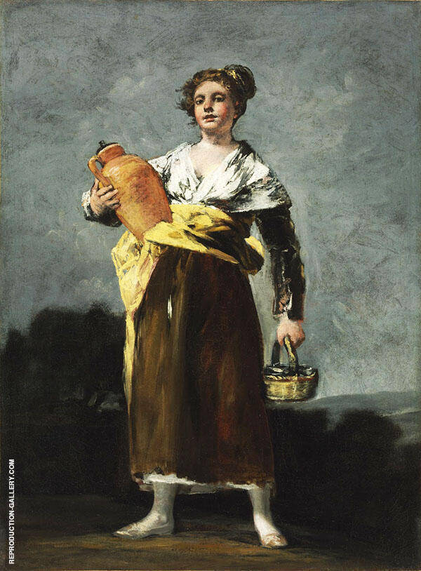 The Water Carrier By Francisco Goya