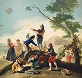 The Kite c1777 By Francisco Goya