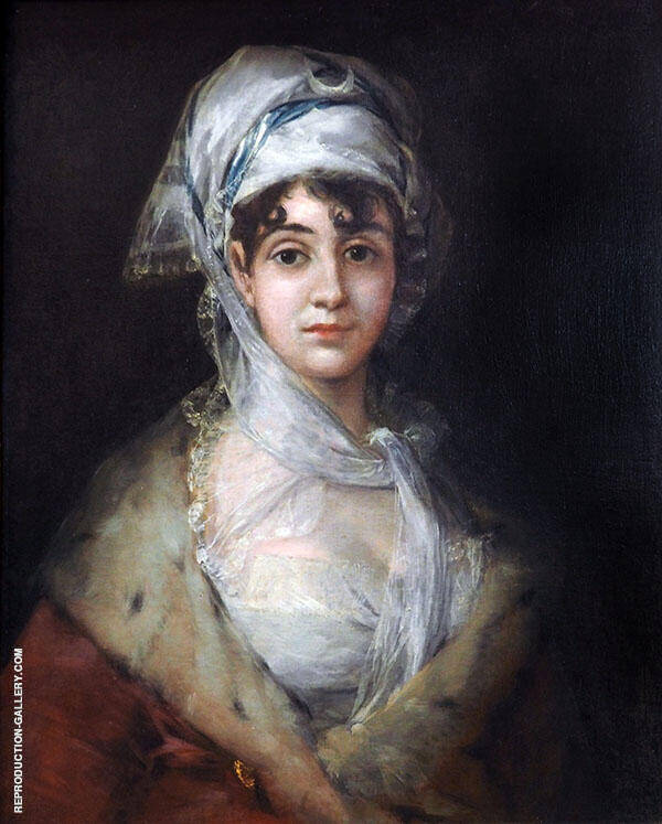 Portrait of the Actress Antonia Zarate c1810 By Francisco Goya