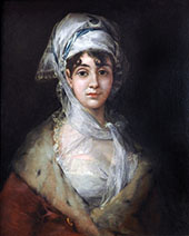Portrait of the Actress Antonia Zarate c1810 By Francisco Goya