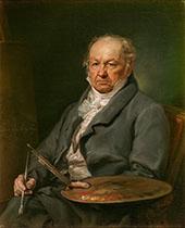 The Painter Francisco de Goya 1826 By Francisco Goya