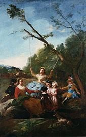 The Swing 1779 By Francisco Goya