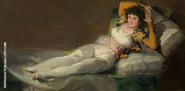 The Clothed Maja By Francisco Goya
