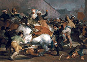 The Second of May 1808 By Francisco Goya