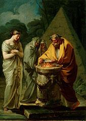 Sacrifice to Vesta 1771 By Francisco Goya