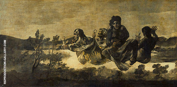 The Fates c1820 By Francisco Goya