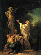 The Sacrifice of Pan 1771 By Francisco Goya