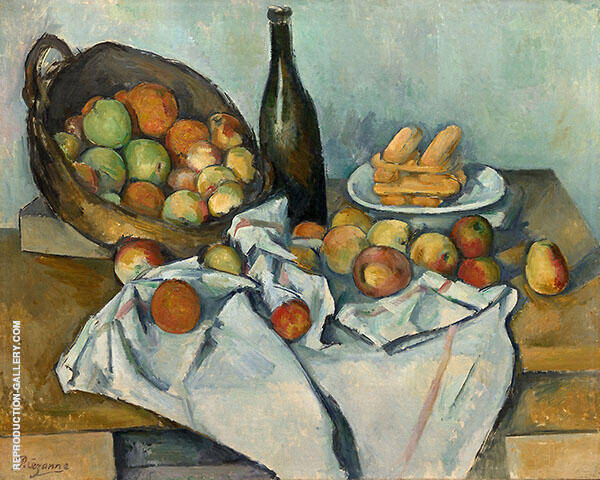 The Basket of Apples c1893 By Paul Cezanne