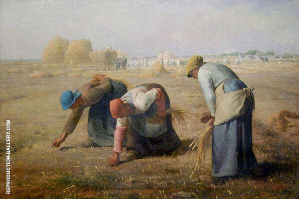 The Gleaners 1857 By Jean Francois Millet