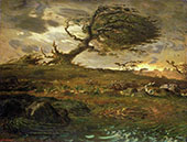 A Gust of Wind 1871 By Jean Francois Millet