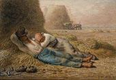 Noonday Rest 1886 By Jean Francois Millet