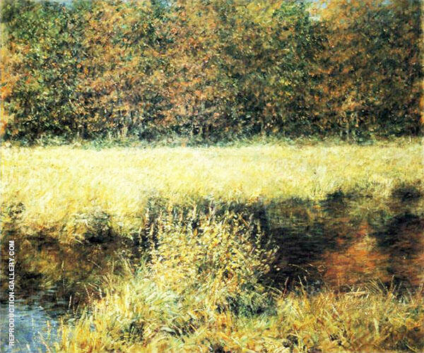 Autumn Landscape Painting By Robert Lewis Reid - Reproduction Gallery