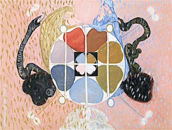 Evolution No13 Group VI Painting By Hilma AF Klint - Reproduction Gallery