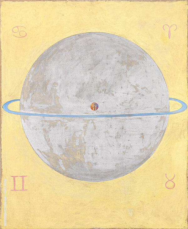 Group IX Dove No12 1915 Painting By Hilma AF Klint - Reproduction Gallery