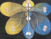 Group VI Evolution No9 1908 By Hilma AF Klint