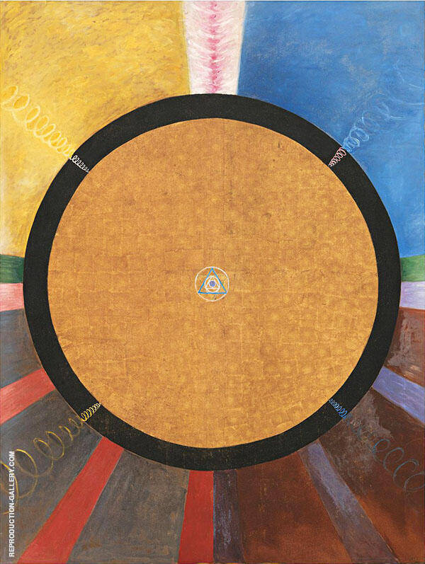 Group X No3 Alterpiece 1915 By Hilma AF Klint