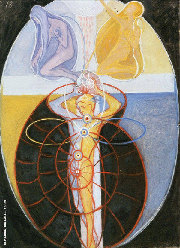 Series US Group8 NR1 Painting By Hilma AF Klint - Reproduction Gallery