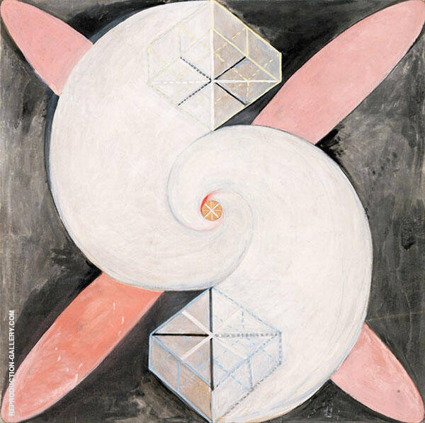 The Swan No21 1915 Painting By Hilma AF Klint - Reproduction Gallery